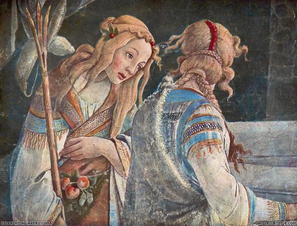 Les femmes de Botticelli et de la Renaissance dans Art et la religion Botticelli_-les-filles-de-Jethro1