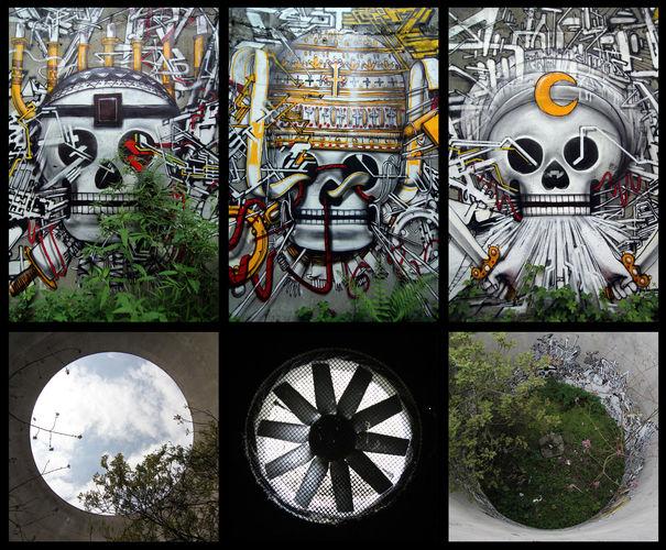 Le mausolée de Lek et Sowat  dans Street art Lek-et-Sowat5