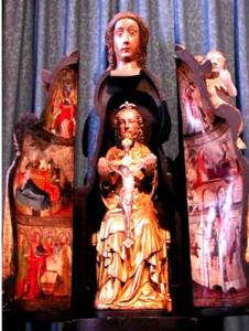 « Notre Dame du mur »  un retable qui se trouve  à Morlaix    dans Art et la religion notre-dame-du-mur-morlaix-226x300