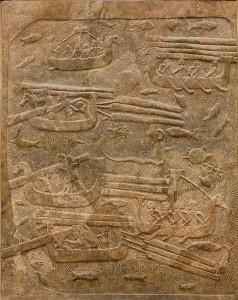 Les livres des rois : Salomon et la construction du temple (1 rois 8) dans AT Bible 476px-transport_cedar_dur_sharrukin_louvre_ao19890-238x300