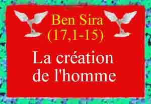 Ben-Sira-la-création