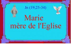 Marie-mère-de-l'églsie